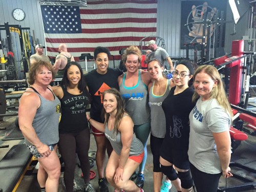 Social media has brought lifters, competitors and teammates together