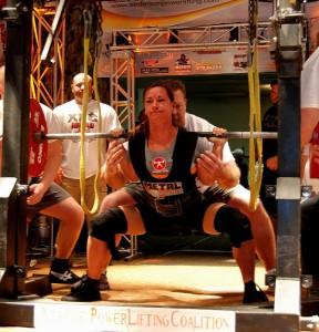 julia ladewski Arnold XPC squat
