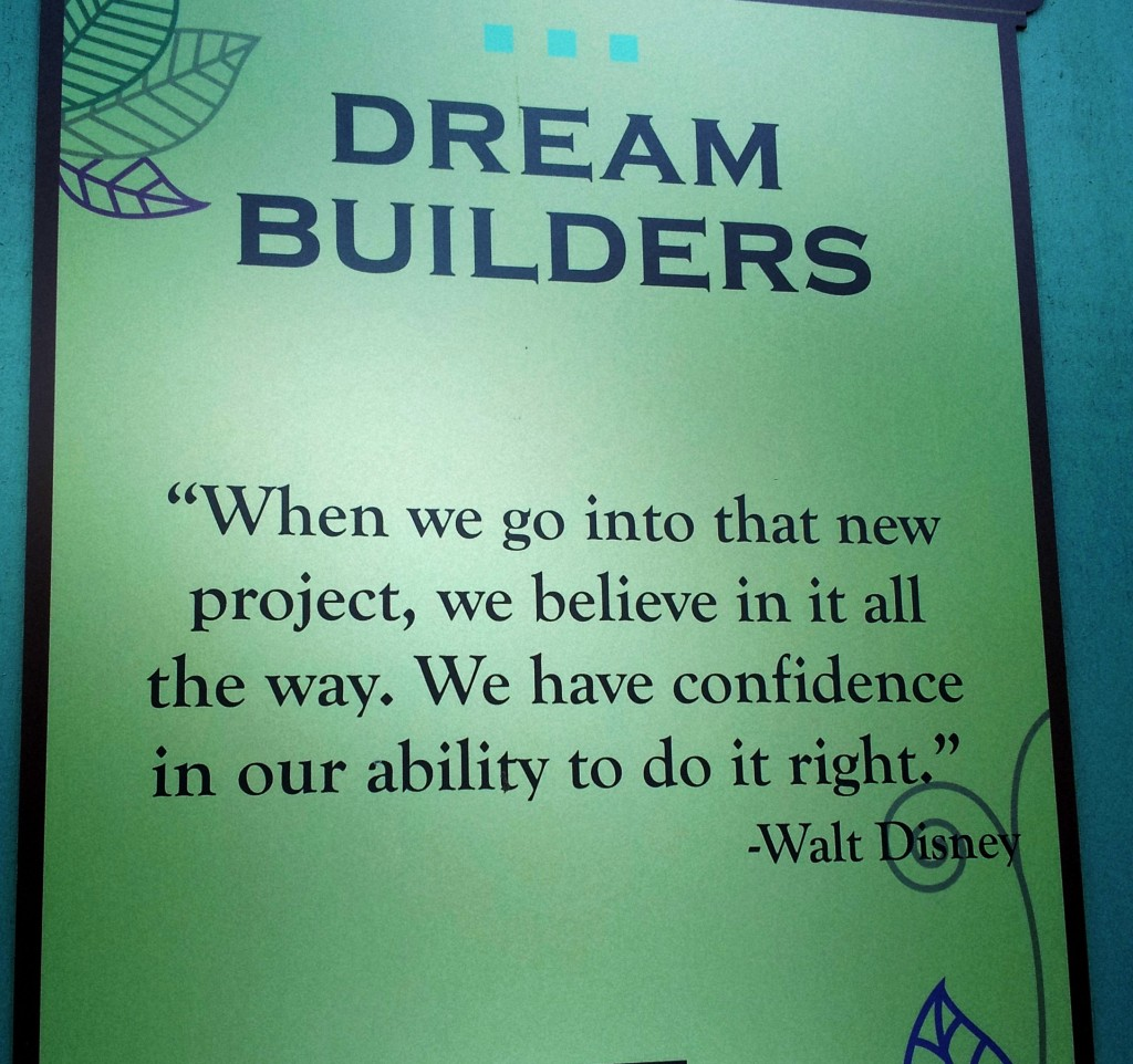 walt disney dream quote